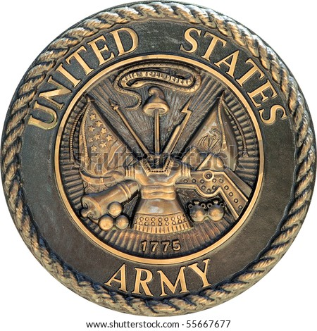 US Army commemorative plaque
