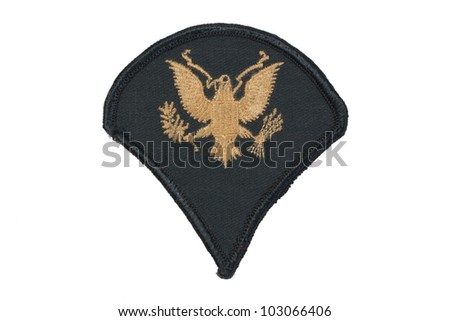 US army uniform badge