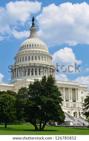 US Capitol building - Washington DC