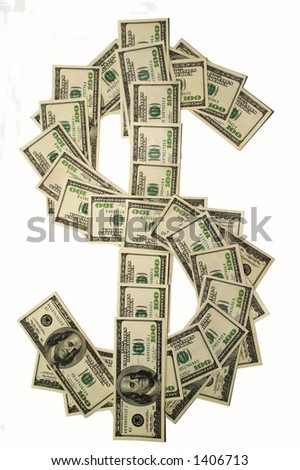 US Currency Symbol isolated
