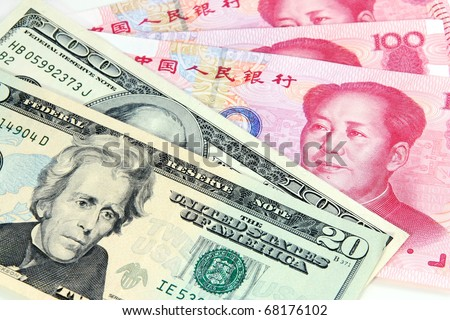 US dollar vs Chinese RMB - tug-of-war of currency depreciation and appreciation