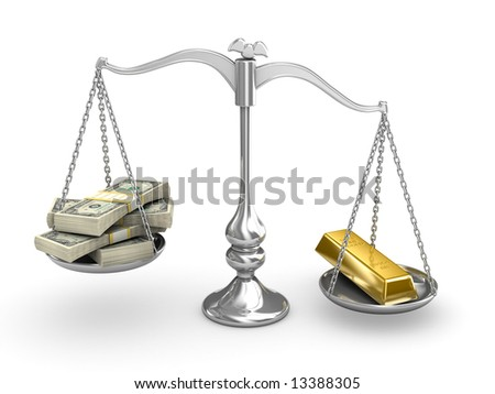 US Dollar vs Gold