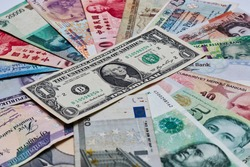 US Dollars and other currencies