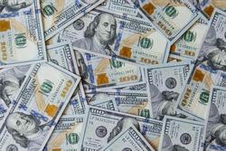 US dollars bills