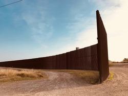 US Mexican border wall Texas