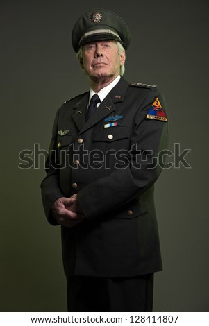 Military officers caps stock photos illustrations and vector art