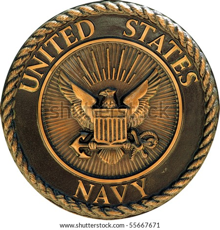US Navy commemorative plaque