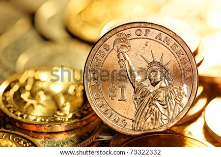 US $1 (One Dollar) Coin