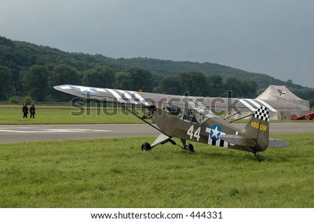 us plane world war II - stock photo