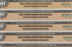 US Savings Bonds. Savings bonds are debt securities issued by the U.S. Department of the Treasury. They are issued in Series EE or Series I.