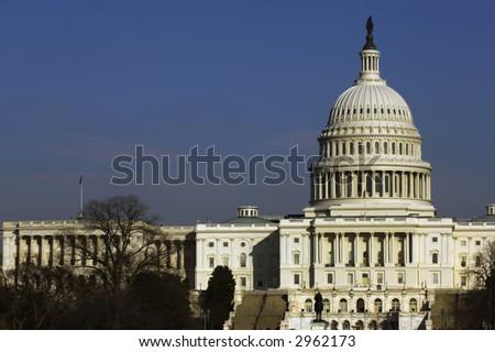 US Senate building at National Mall, Washington, DC