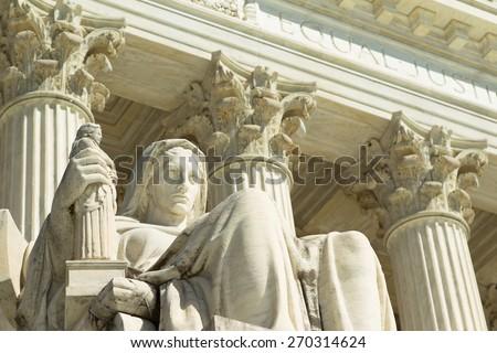 US Supreme Court  Foto stock ©