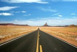 US 163, the scenic road to Monument Valley, Arizona