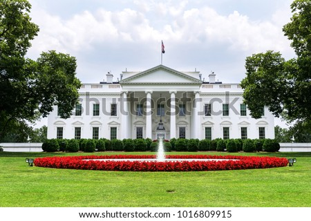 US White House front view 2 #1016809915