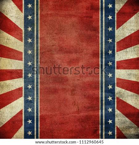 USA background grunge style