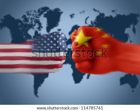 USA & China - disagreement