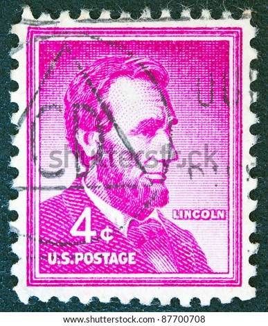 USA - CIRCA 1954: A stamp printed in USA from the \