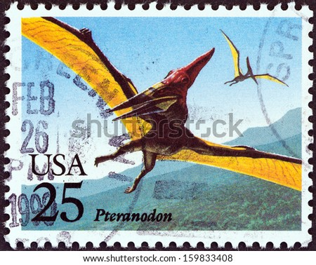 USA - CIRCA 1989: A stamp printed in USA from the \