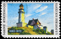 USA - CIRCA 1970: A Stamp printed in USA shows