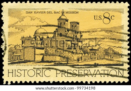 usa   circa 1971  a stamp...