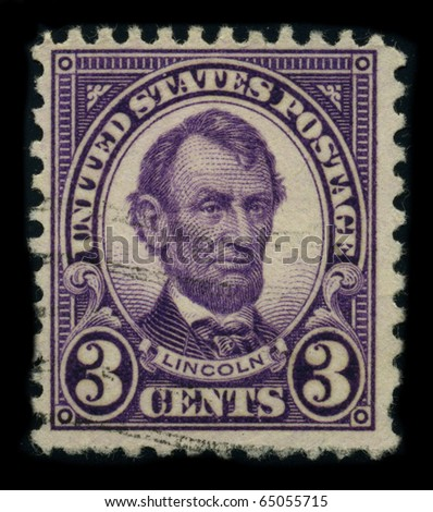 usa circa 1924  a stamp shows...