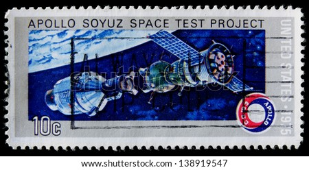 apollo soyuz space test project stamp - photo #2