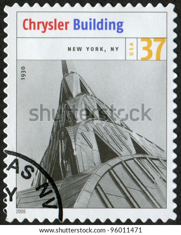 Usa circa 2005 postage stamp printed in usa shows the for New york state architect stamp