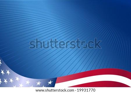 USA corporate background