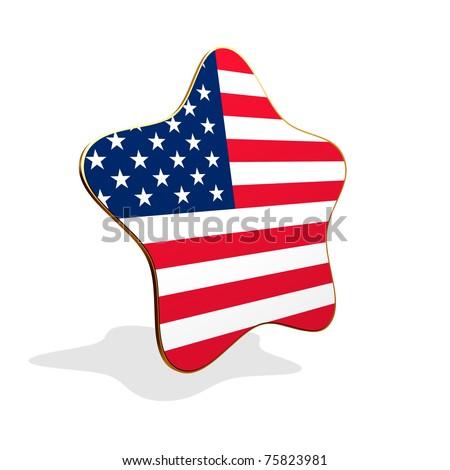 Star Flag Banner