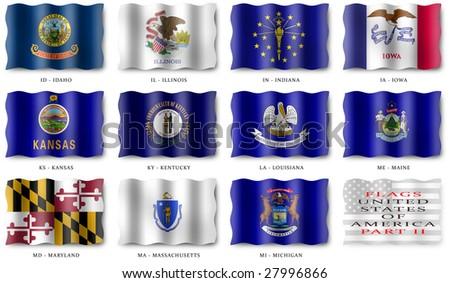 USA Flags (Part II)