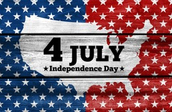 USA Independence Day banner background