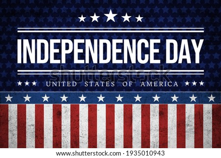 USA Independence Day banner background Stock photo ©