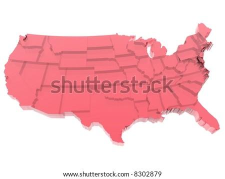 USA Map - States