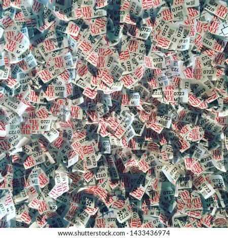 USA NY New York metropolitan Museum art ticket #1433436974