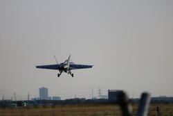 usaf jet fighter performing landing