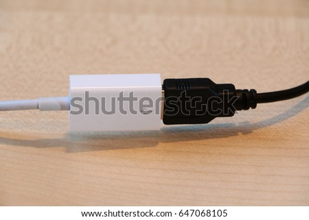 usb cable  #647068105