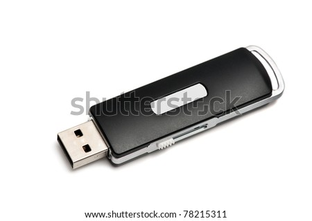 usb flash drive with copy space for sign
