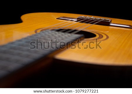 Used Classic Guitar Easel Detail
