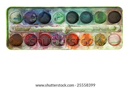 Watercolor Color Palette Watercolor Palette