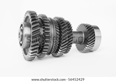 used gear for replace in car engine