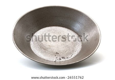 Used gold prospector pan.