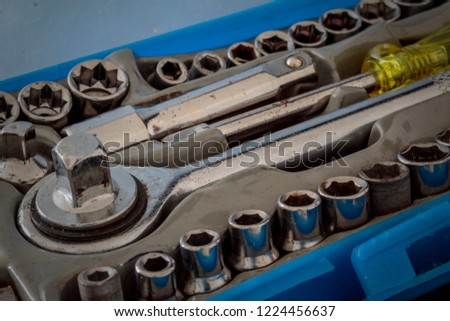 Used miscellaneous tools #1224456637