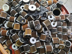used motorcycle oil filters. Anoil filteris afilterdesigned to remove contaminants fromengine oil.