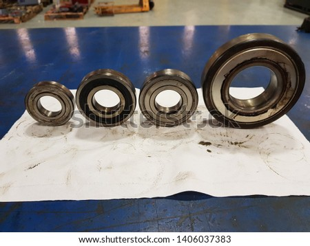 Used old bearings Most will come from the main motor. Can be used in education