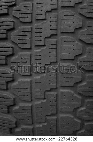 used tyre close-up