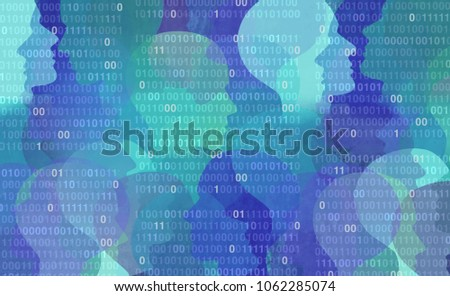User data privacy as an abstract personal private information security technology as a social media and public profile sharing of lifestyle activities in a 3D illustration style.