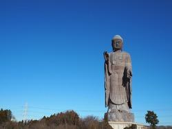 Ushiku Daibutsu, the tallest Buddha statue of Japan