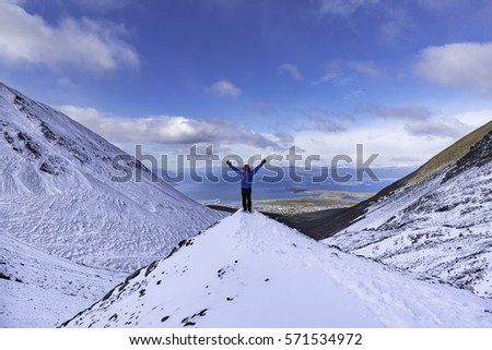 Shutterstock Ushuaia aerial view from the Martial Glacier. Ushuaia is the main city of Tierra del Fuego in Argentina