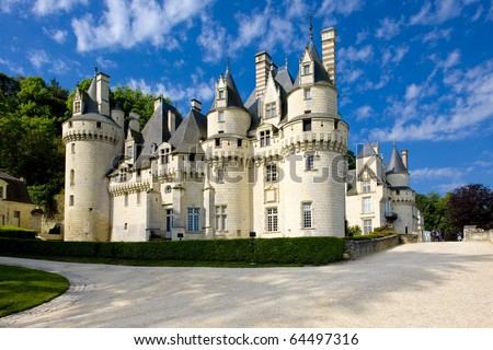 Usse Castle, Indre-et-Loire, Centre, France