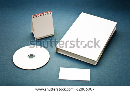Usual business supplies used for corporate branding